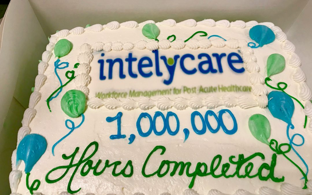 IntelyCare Announces One Million Hours Filled!