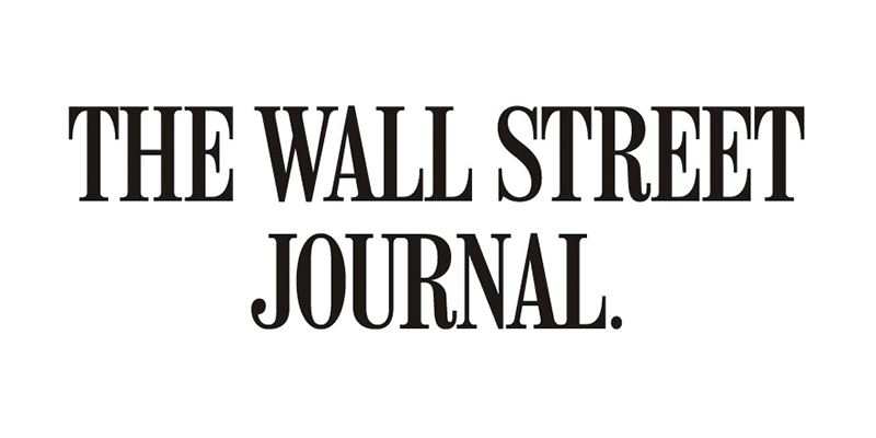 Logo for the Wall Street Journal