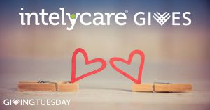 Giving Tuesday image for IntelyCare