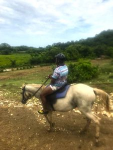 Jermaine, one of our IntelyPros, enjoys horseback riding when he's not working for IntelyCare