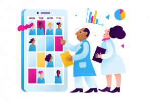 Calendar of schedules for nursing facilities