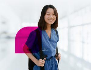 IntelyCare Nurse with Cape