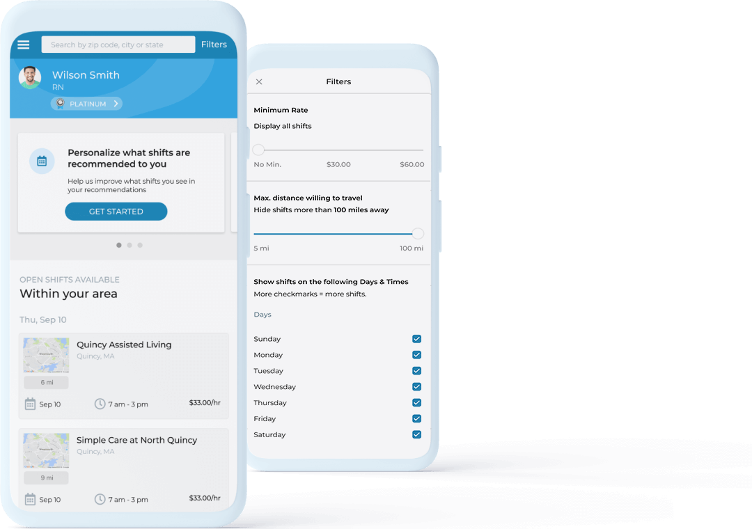 IntelyCare Mobile App
