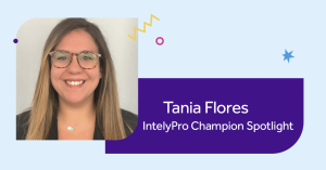 Tania Flores IntelyPro Champion Spotlight