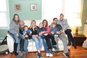 Beth Fournier with Family - Nurse Spotlight IntelyPro